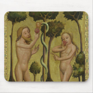The Fall, detail from the Grabow Altarpiece Mouse Pad