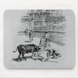 The Fall of a Picador Mouse Mat