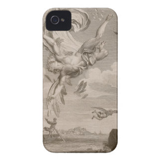 The Fall of Icarus, 1731 (engraving) iPhone 4 Cover