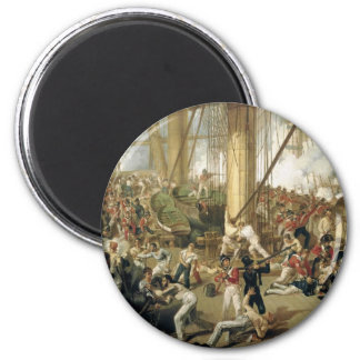 The Fall of Nelson 6 Cm Round Magnet