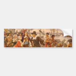 The Fall of New Amsterdam Jean Leon Gerome Ferris Bumper Sticker
