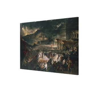 The Fall of Nineveh Canvas Print