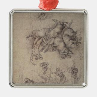 The Fall of Phaethon, 1533 Christmas Ornament