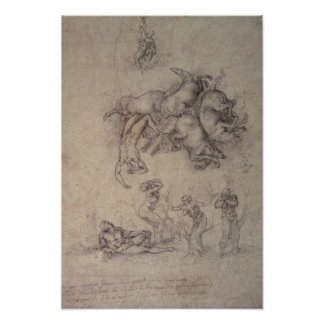The Fall of Phaethon, 1533 Poster
