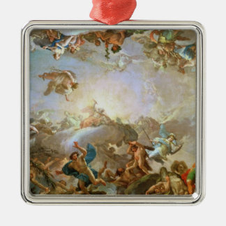 The Fall of the Giants besieging Olympus, 1764 (oi Silver-Colored Square Decoration