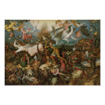 The Fall of the Rebel Angels, 1562 Poster