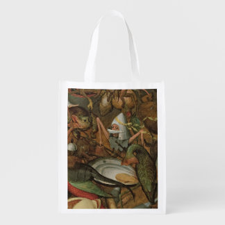 The Fall of the Rebel Angels, 1562 Reusable Grocery Bag