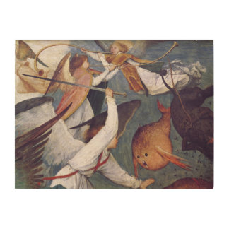 The Fall of the Rebel Angels Wood Wall Art
