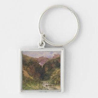 The Falls of Tivoli Key Ring