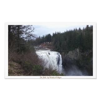 """The Falls"" Snoqualmie Photo Print"