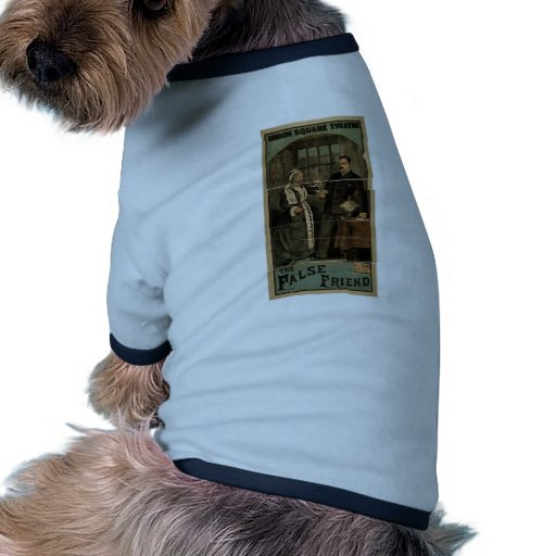 The False Friend, Union Square Theatre Retro Theat Doggie Tee Shirt