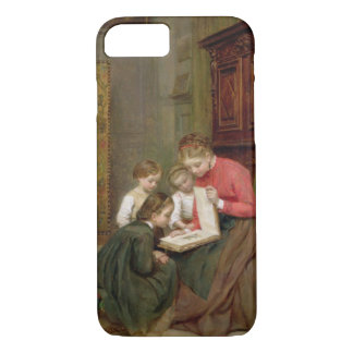 The Family Album, 1869 (oil on canvas) iPhone 8/7 Case