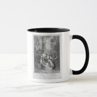 The Family, engraved by Pierre Aveline Mug