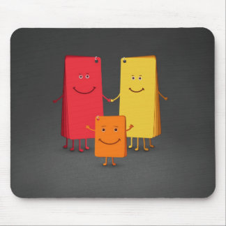 The Family of Colors (3) Mouse Pad