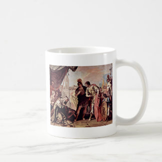 The Family Of Dario Before Alexander The Great Coffee Mugs