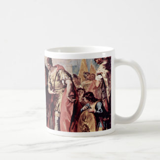 The Family Of Dario Before Alexander The Great Mugs