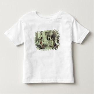 The family of Franz Peter Schubert  playing games Toddler T-Shirt