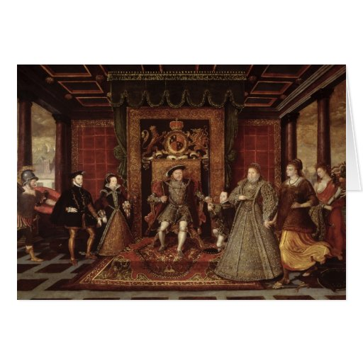 The Family of Henry VIII: Cards