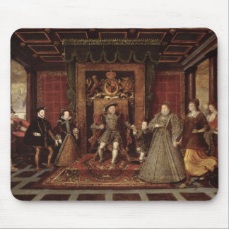 The Family of Henry VIII: Mouse Mat