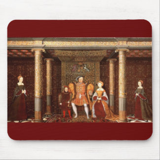 The Family of Henry VIII Mouse Pad