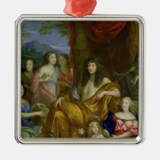 The Family of Louis XIV  1670 Christmas Ornament
