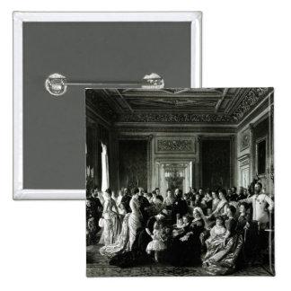 The Family of Queen Victoria, 1887 15 Cm Square Badge