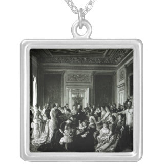 The Family of Queen Victoria, 1887 Silver Plated Necklace