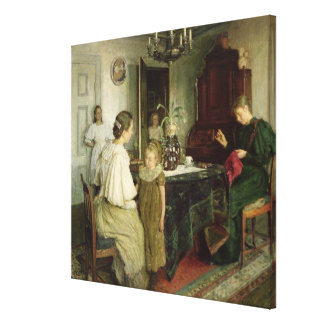 The Family of the Artist, 1895 Canvas Print