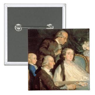 The Family of the Infante Don Luis de Borbon 2 15 Cm Square Badge
