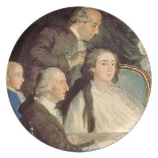 The Family of the Infante Don Luis de Borbon 2 Dinner Plate