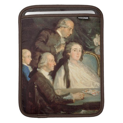 The Family of the Infante Don Luis de Borbon 2 iPad Sleeves