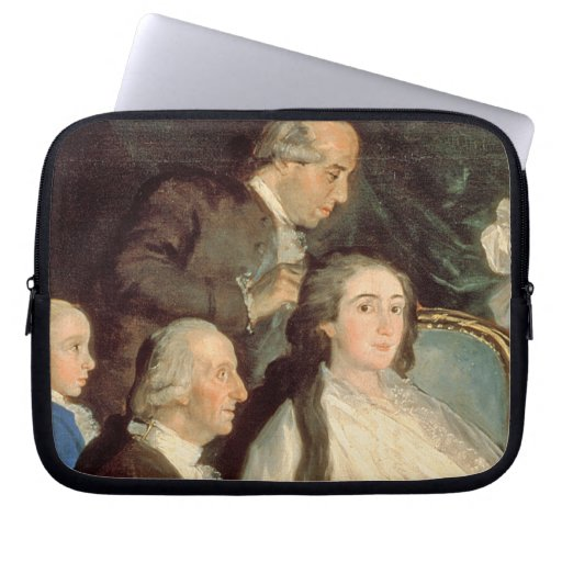 The Family of the Infante Don Luis de Borbon 2 Computer Sleeves