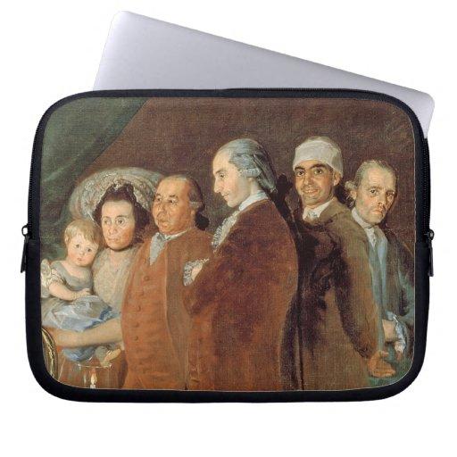 The Family of the Infante Don Luis de Borbon Laptop Sleeves