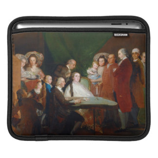 The Family of the Infante Don Luis Francisco Goya iPad Sleeve