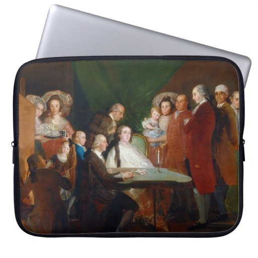 The Family of the Infante Don Luis Francisco Goya Computer Sleeve