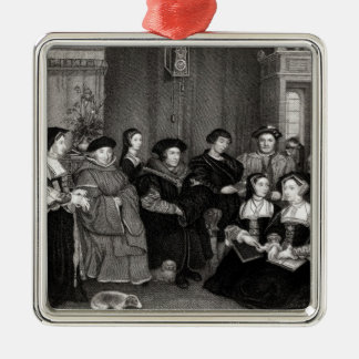 The Family of Thomas More Christmas Ornament