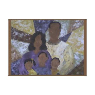 """""""The Family"""" Portrait Canvas Print"""