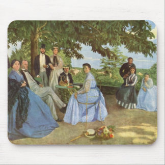 The Family Reunion Frederick Bazille Mousepad
