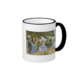 The Family Reunion, Frederick Bazille Coffee Mugs