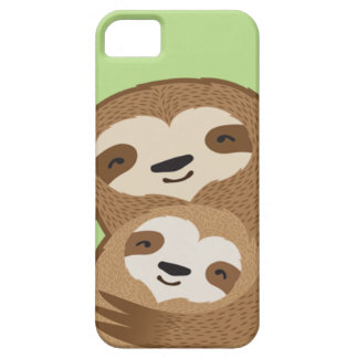 The Family Sloth iPhone 5 Covers