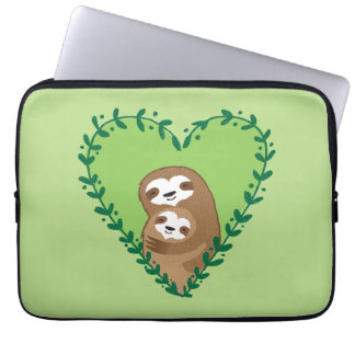 The Family Sloth Laptop Sleeve