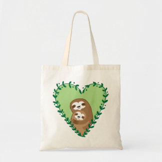 The Family Sloth Tote Bag