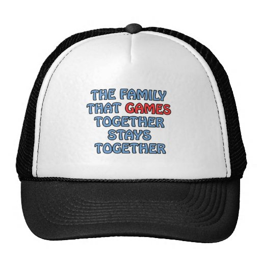 The Family That Games Together Hat