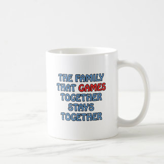 The Family That Games Together Mugs