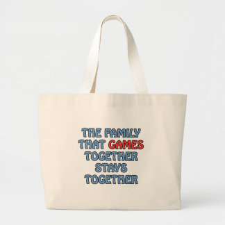 The Family That Games Together Bags