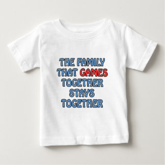 The Family That Games Together T Shirts