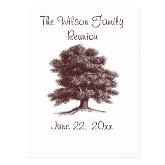 The Family Tree Postcard