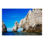 The Famous Arch In Cabo San Lucas Poster