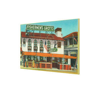 The Famous Fisherman's Grotto Bldg Canvas Prints