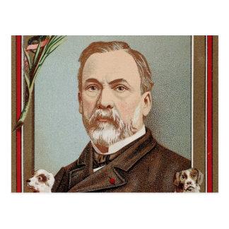 The Famous Louis Pasteur Portrait Historical Postcard